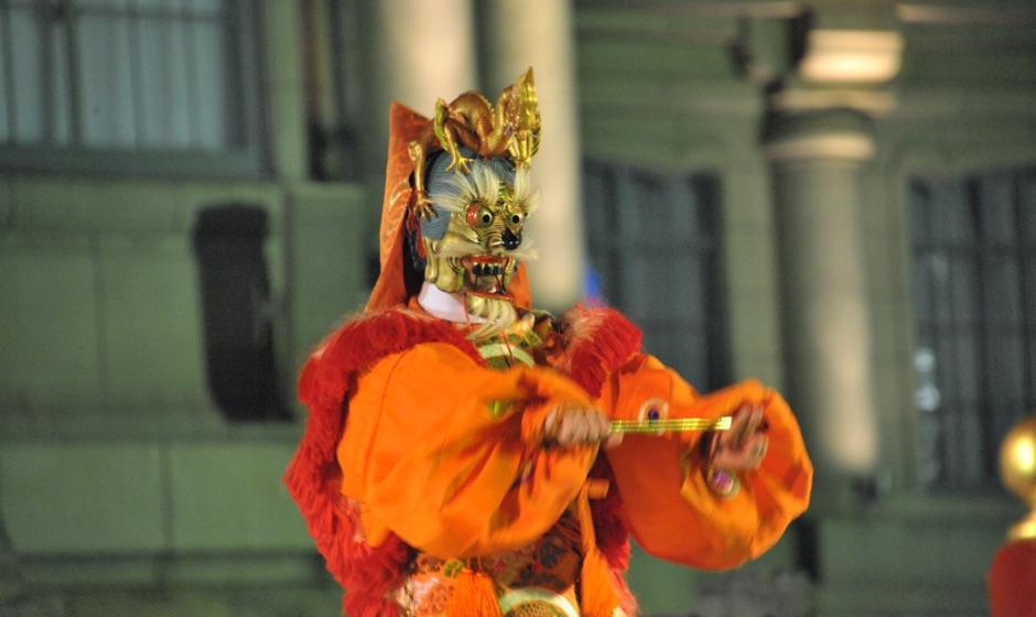 Traditional Gagaku Music Performances