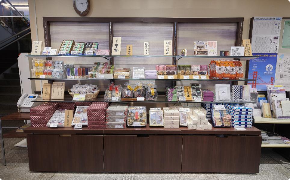 第一伝道会館お土産品販売コーナー